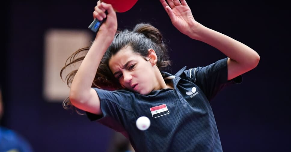 Hend Zaza (Source: Olympics Channel)