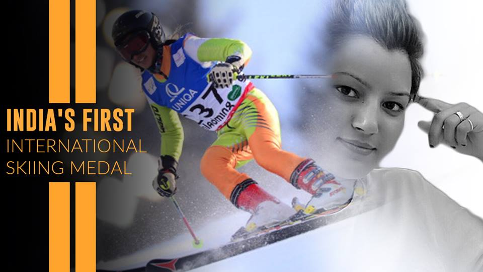 Image result for pics of anchal thakur skiing