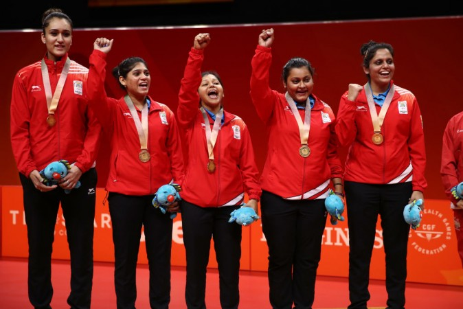 Commonwealth Games 2018 India Wins Table Tennis Gold