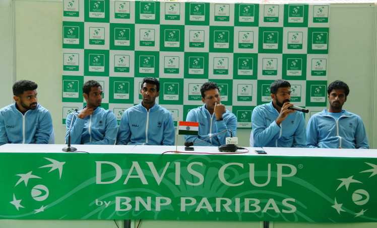 India drawn to face Pakistan away in Davis Cup