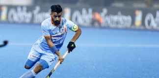 Manpreet Singh Captained the Indian team at the World Cup