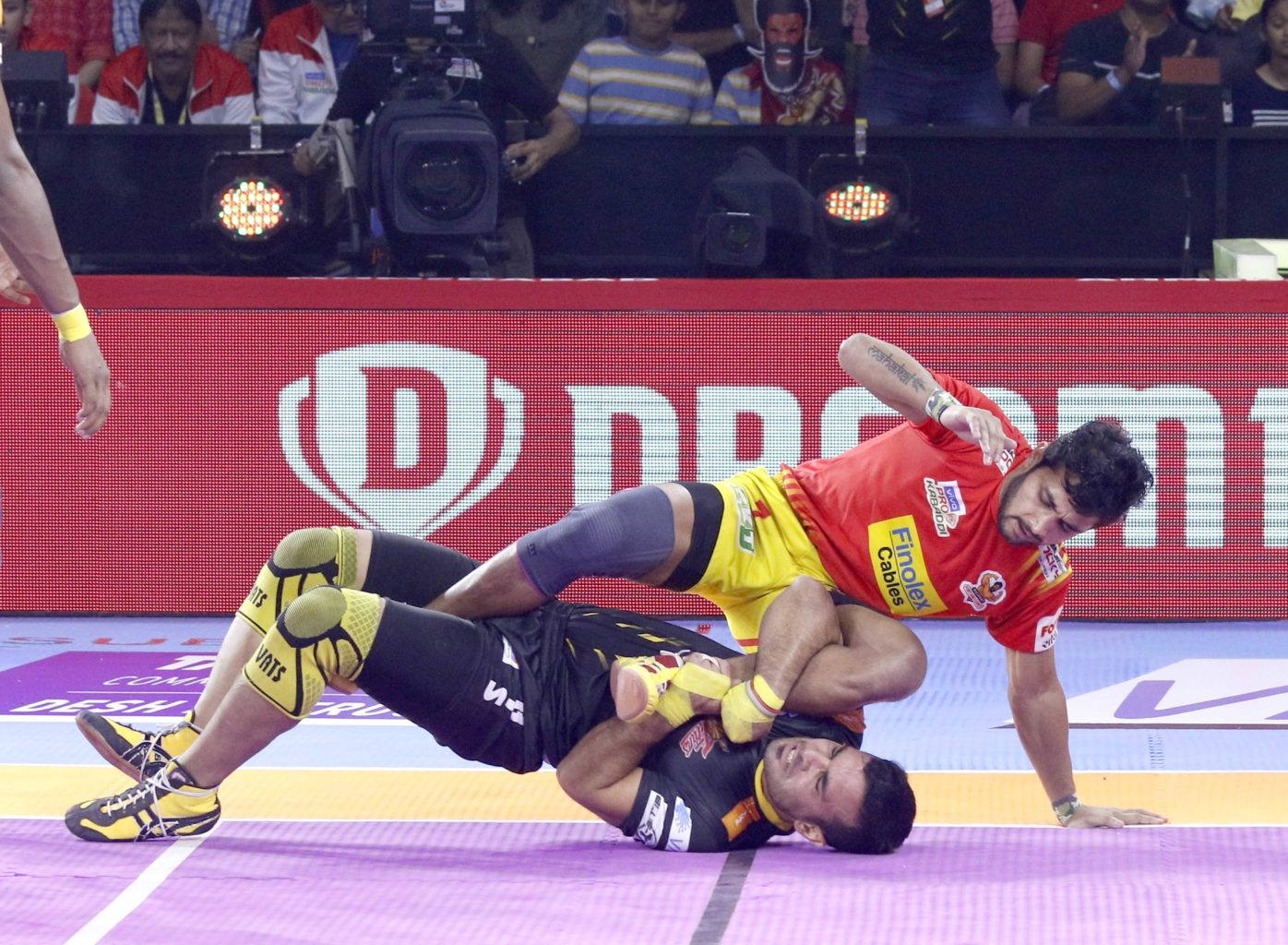 Gujarat Fortunegiants vs Telugu Titans