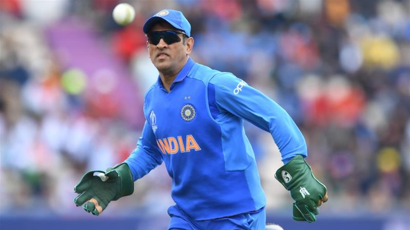 M. S. Dhoni donned the Indian Army regimental insignia on his gloves during the ICC Cricket World Cup