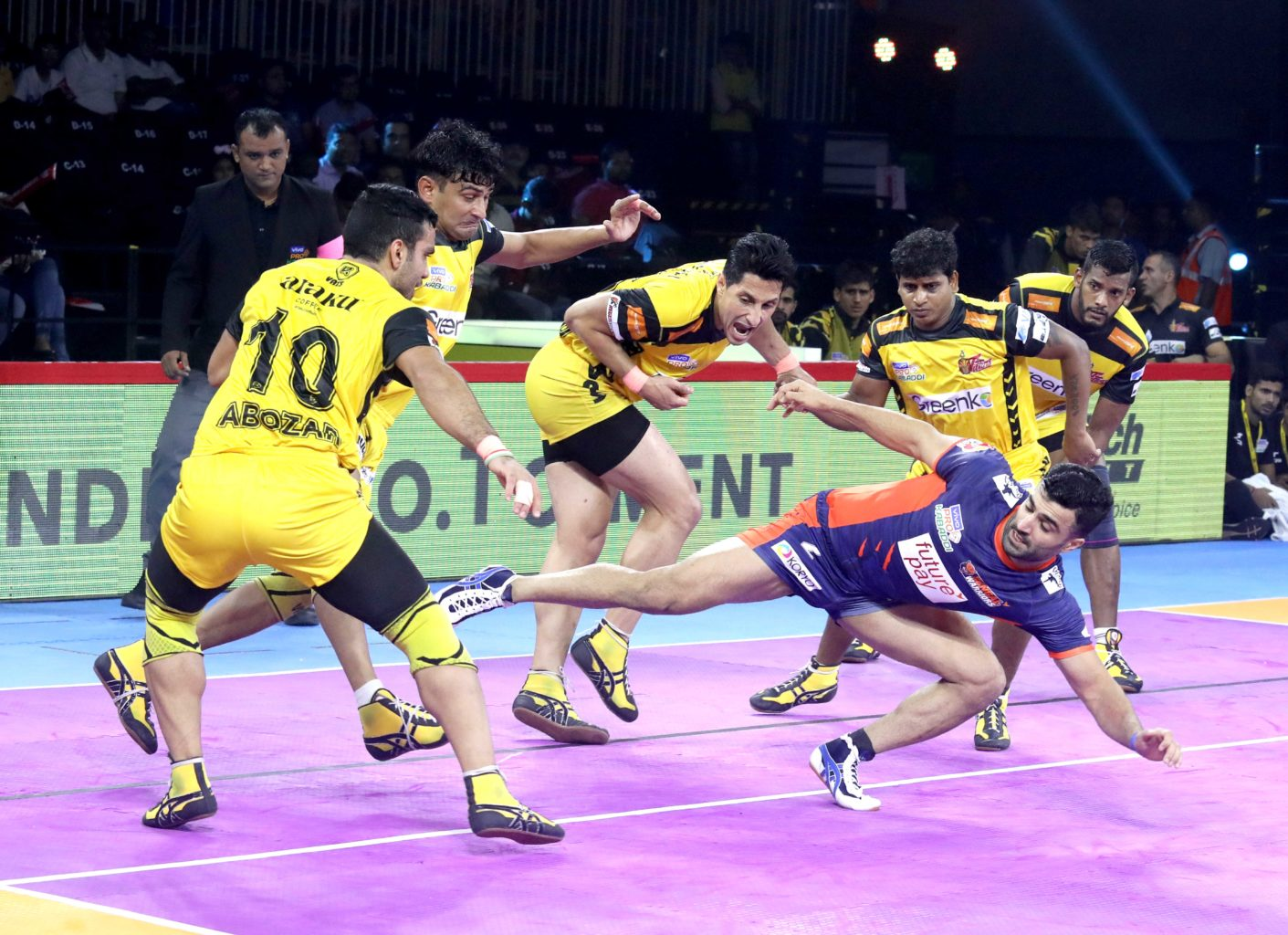 Bengal Warriors vs Telugu Titans