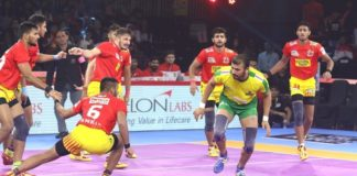 Tamil Thalaivas vs Gujarat Fortunegiants.