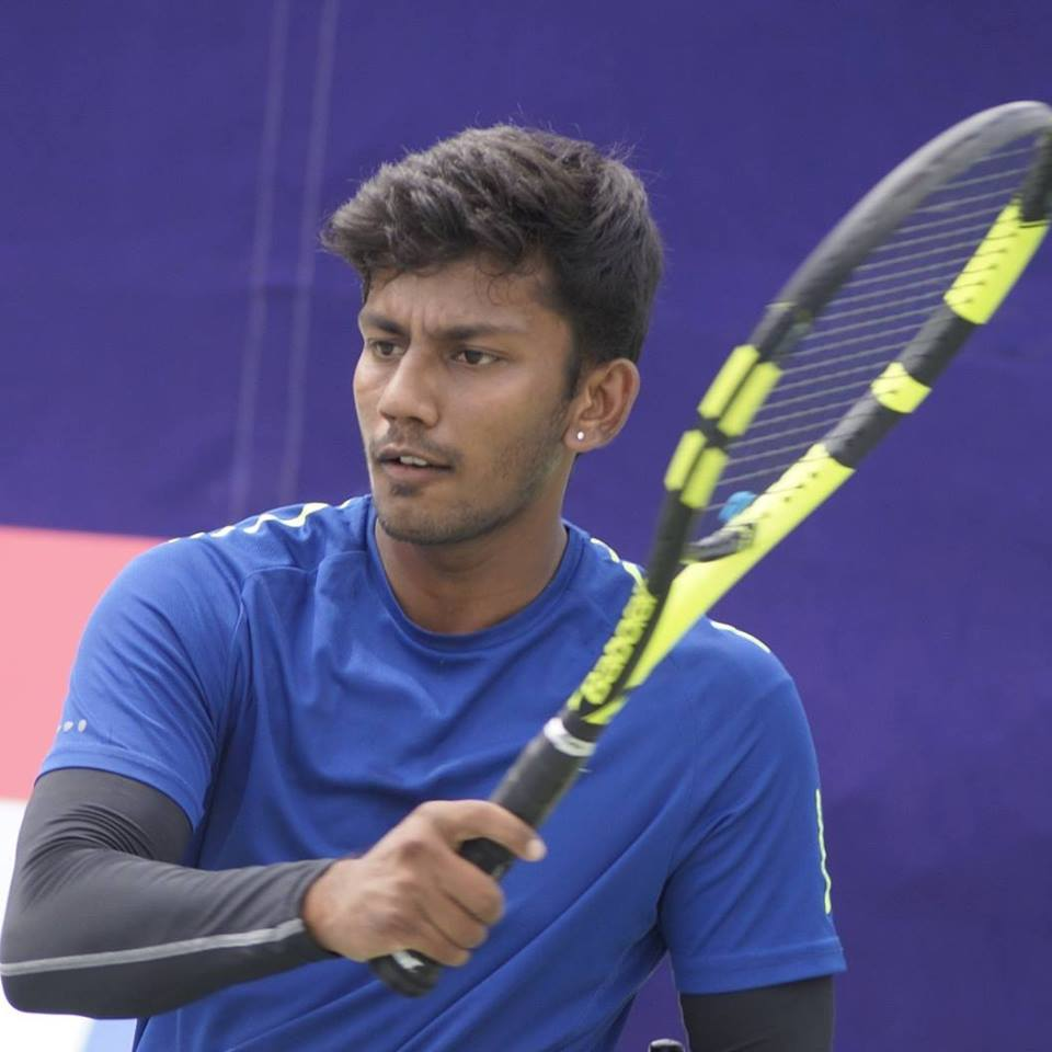 Madhusudan, who also works in a private company in Bengaluru ensures he keeps up with regular tennis practice.