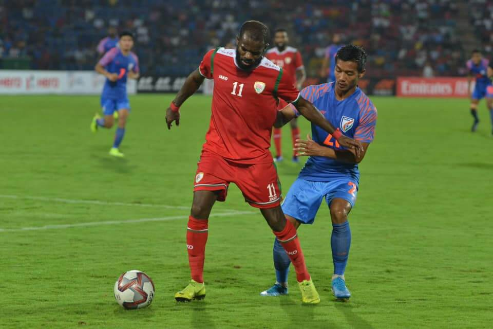 Though India were leading in the match by one goal, it was taken away by Oman in the last 10 minutes