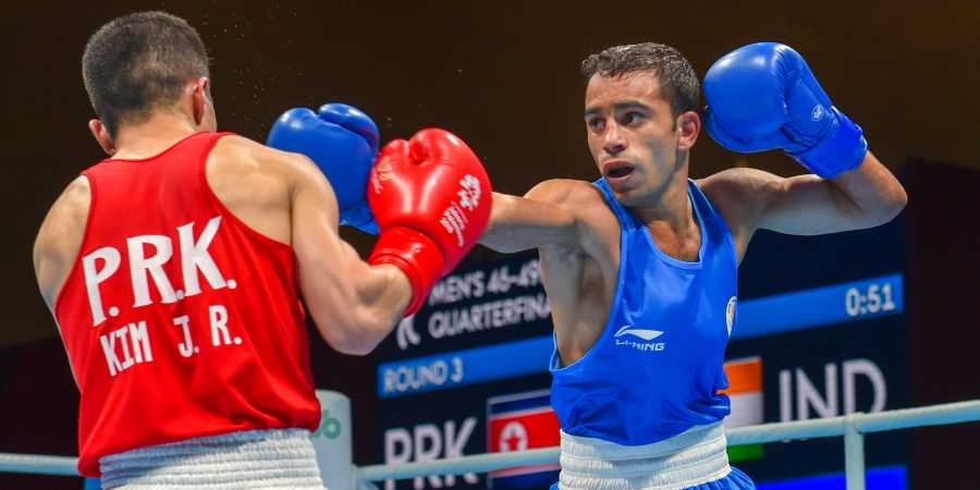 Amit Phangal is India's biggest hope at Boxing World Championships