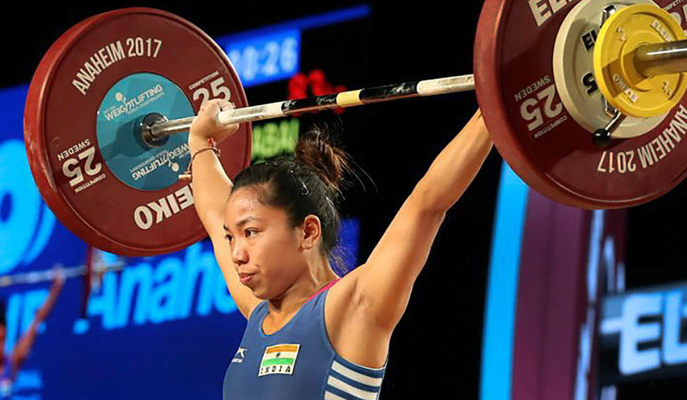 if a stout-figured Karnam Malleshwari or a Kunjarani Devi stood for a secure past, Mirabai Chanu has emerged as the one for the present holding good promise for the future on the Indian weightlifting radar.
