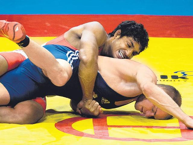 Sandeep Tulsi Yadav in 2013 won a bronze medal in the Greco-Roman category of the World Wrestling Championship