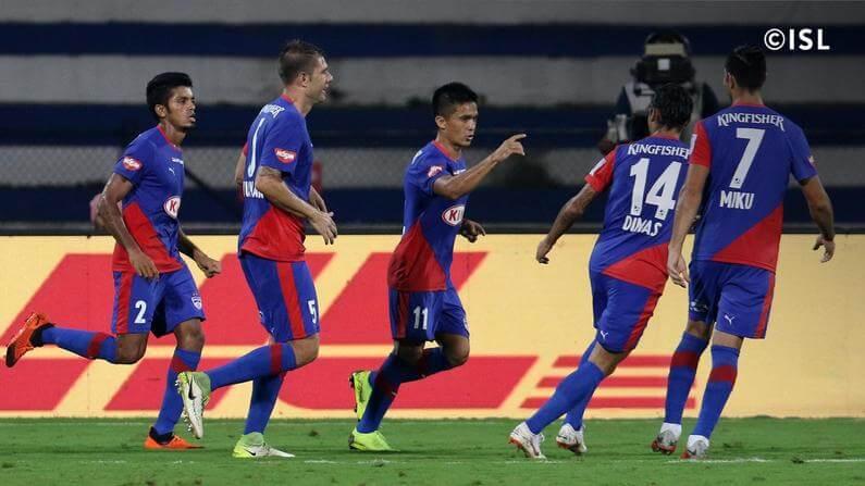 The defending champions of ISL, Bengaluru FC