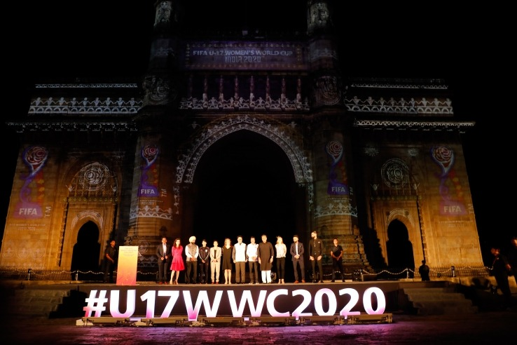 The emblem was unveiled on Saturday, 2 November 2019, during a star-studded launch event at the iconic Gateway of India, in Mumbai.