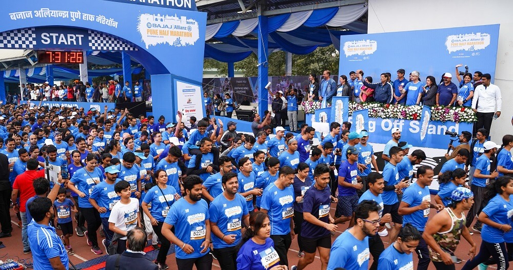 BAPHM 2019 saw participants from 26 Indian states/union territory with the maximum participants (47%) in the 5K category.