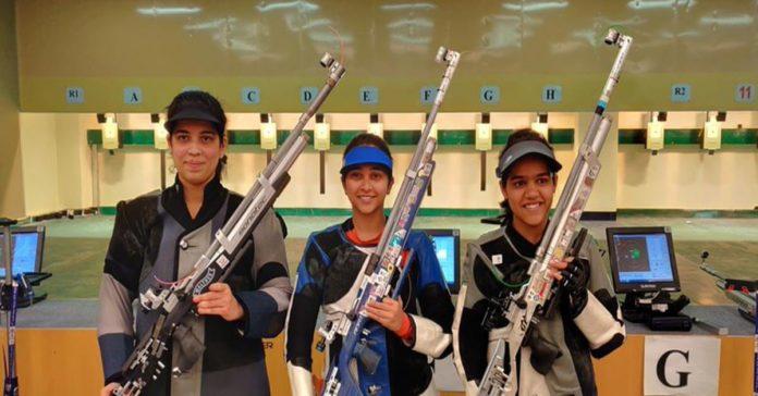India Shooting Team