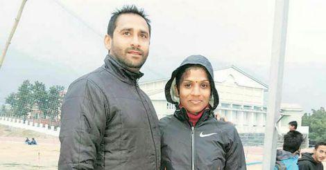 OP Jaisha with her husband Gurmeet SIngh