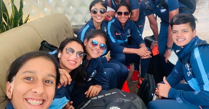Jemimah Rodrigues, Shafali Verma and Smriti Mandhana have been giving the team solid start (Image: Harmanpreet Kaur/Twitter)