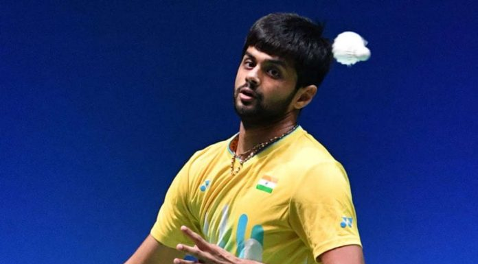 B. Sai Praneeth (Image: India All Sports - Twitter)