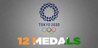 12 Medals in Olympics