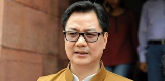 Union mister for sports and youth affairs Kiren Rijiju (Image: Sentinel Assam)