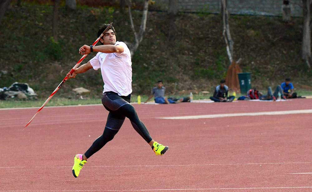 Neeraj Chopra( Image: City Hub News)