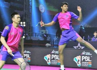 Chirag Shetty and Hendra Saitewan