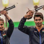 Manu Bhaker & Saurabh Chaudhury (Image - ISSF)