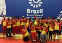 India's Para Badminton Team