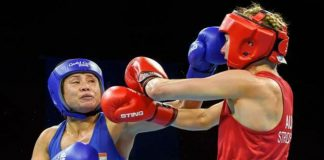 Sarita Devi (Image: Boxing Federation and AIBA)