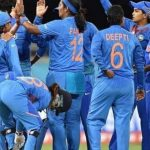 Indian Women's Cricket Team will look to enter the semifinals unbeaten with win against Sri Lanka(Image: Twitter)