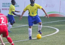 Blind football camp (Image: newzhook.com)