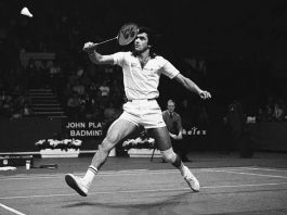 Prakash Padukone became the first Indian to win the All England Championships.(Photo: Twitter)