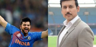 Suresh Raina and Rajyavardhan Rathore (Image: Twitter)