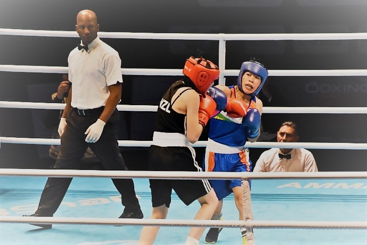 Mary Kom one win away to qualify for Tokyo Olympics