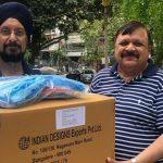 Gursharan Singh and Ashok Bedi