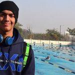 Swimmer Srihari Nataraj