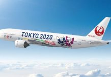 Tokyo Olympics 2020 Aircraft