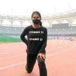 Indian Athlete Training