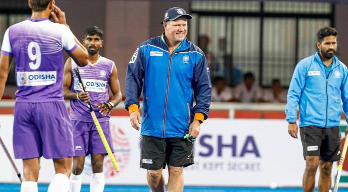 Indian men's hockey team coach Graham Reid (Source: Hockey India)