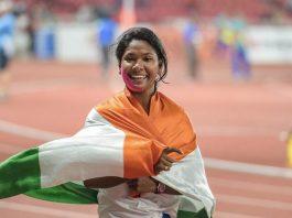Swapna Barman (Source: PTI Photos)
