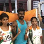 Rakshitha Raju (second left) and Radha Venkatesh (second right) (Source: Steven/Glover/paralympic.org)