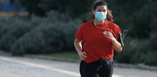 Running while wearing a mask (Source: Shape Magazine)