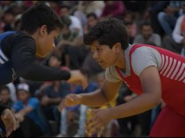 A still from Pehlwani, an episode from Netflix documentary Home Game