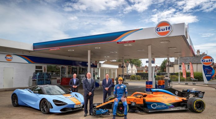 McLaren and Gulf Oil International Ltd have today announced a multi-year strategic partnership