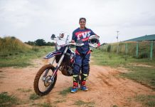 IOS Sports & Entertainment, country's leading sports management group, today announced the signing of champion Indian off-road motorcycle racer Aishwarya Pissay.