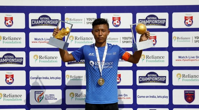 Annaroy Soibam of Reliance Foundation Youth Sports has earned a call-up to join the youth squad of Hero ISL Club Odisha FC.