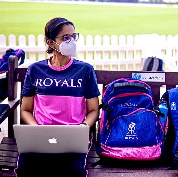 Anuja Dalvi of Rajasthan Royals - Only female physio of IPL 2020