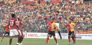 East Bengal vs Mohun Bagan derby (Source- Khelnow)