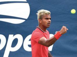 Sumit Nagal at US Open 2020