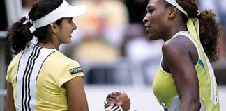 Sania Mirza vs Serena Williams at Australian Open 2005