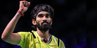Kidambi Srikanth (Source: Badminton World Federation